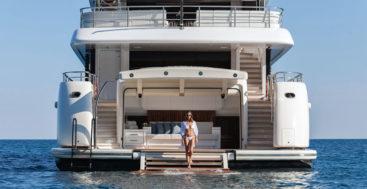 Rüya, by Alia Yachts, is a custom superyacht