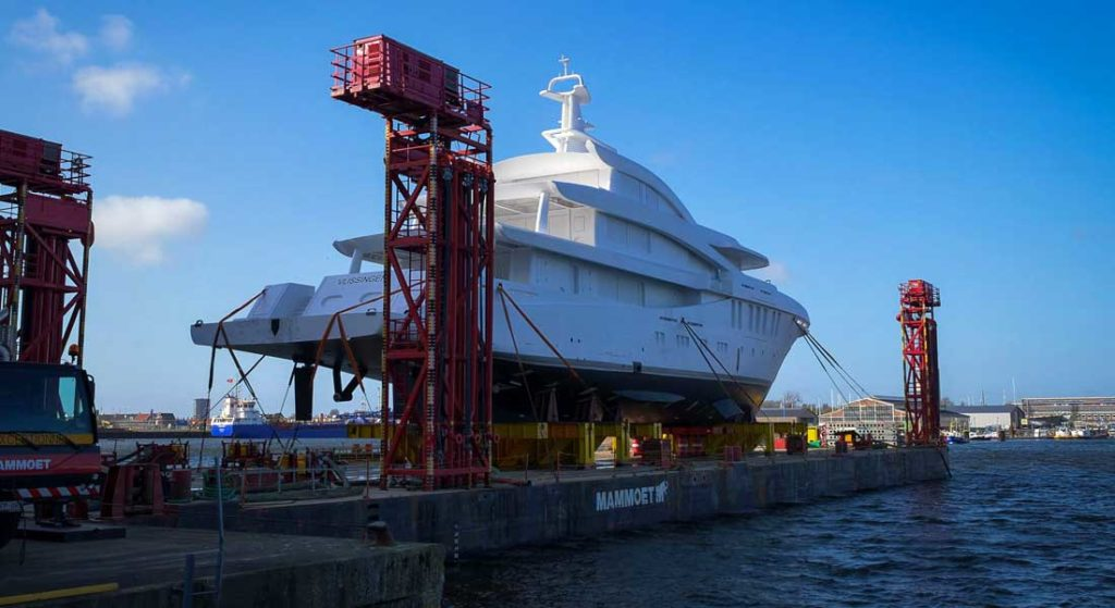 the third Amels 200 megayacht sees delivery in 2021