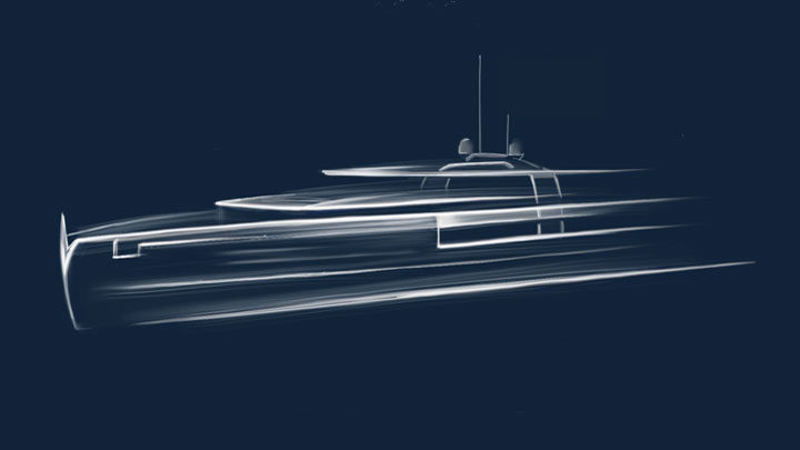 the family behind Gruppo Antonini created Antonini Navi for building megayachts like this Crossover series