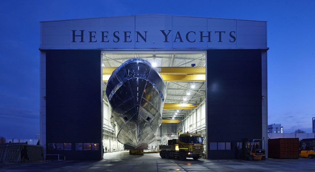 our Megayacht News Radio podcast includes interviews with people from Heesen Yachts