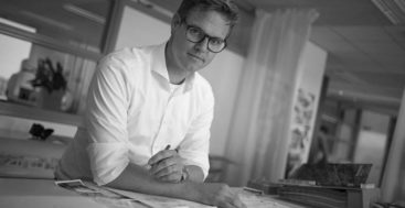 Joost Mertens is the fleet manager for the superyacht design studio Vripack