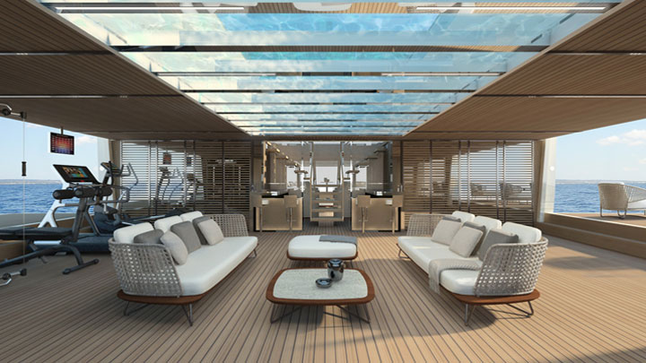 Inside the First Sanlorenzo 62 Steel, a megayacht debuting in 2020