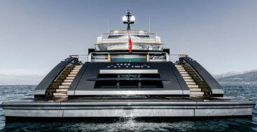 the Sanlorenzo 64 Steel superyacht Attila belongs to a repeat customer for the yard