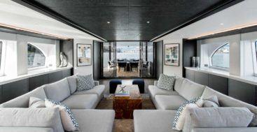 the Crescent 117 megayacht is available through Northrop & Johnson