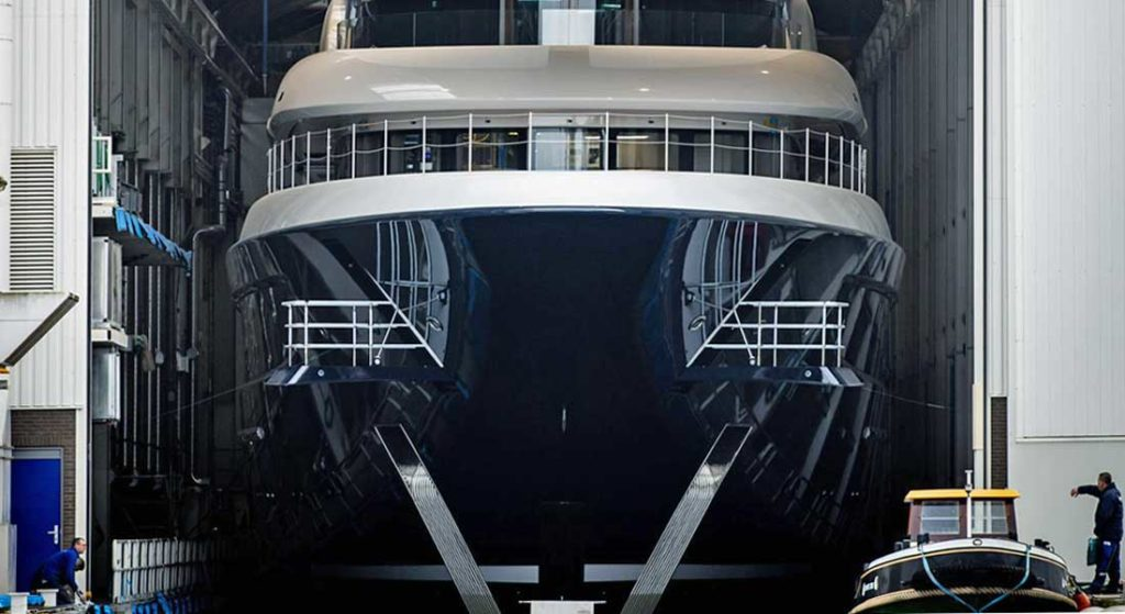Feadship Project 705 is the superyacht Podium