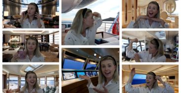 superyacht Zoom backgrounds like these from Feadship are fun to use