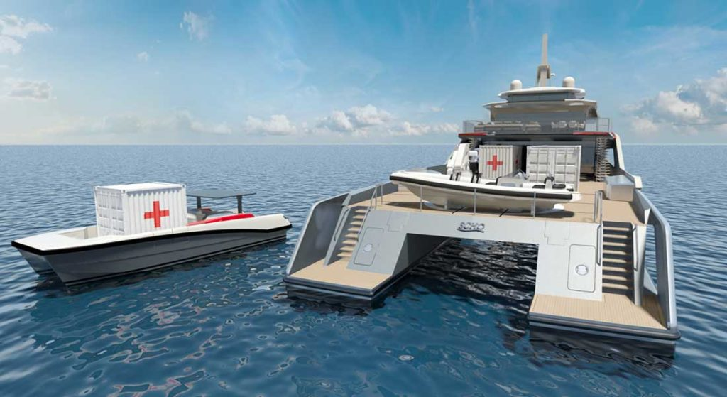 Project Echo HSV, for Humanitarian-Minded Owners - Megayacht News