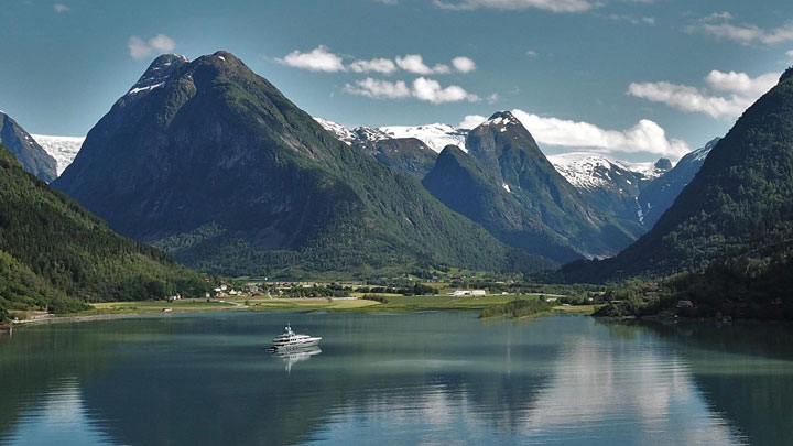 Norway is among popular superyacht destinations