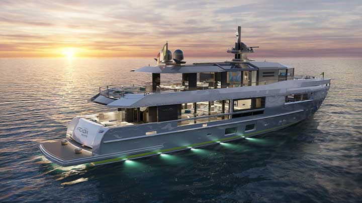 Arcadia Yachts has delivered four A115 megayachts so far and restyled hull #5
