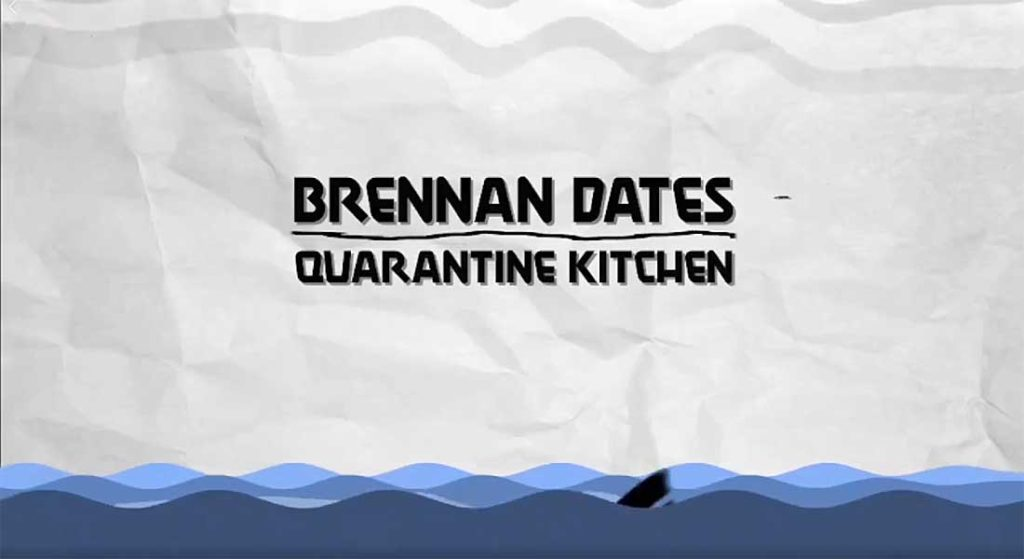 Brennan Dates Quarantine Kitchen was created by a superyacht chef