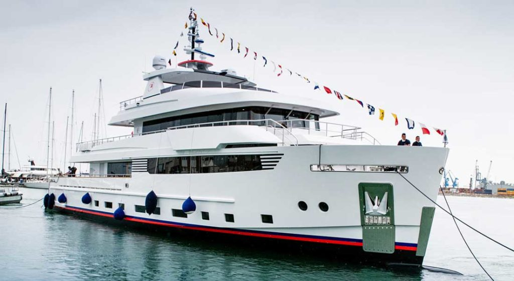 Crowbridge is a go-everywhere megayacht from Cantiere delle Marche