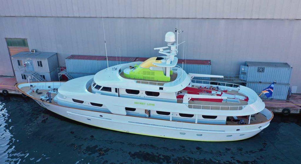 Dunya Yachts spent seven months refitting the superyacht Secret Love