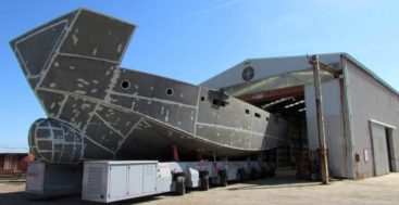 Italian Vessels is a megayacht yard building a project called the Wide Space motoryacht