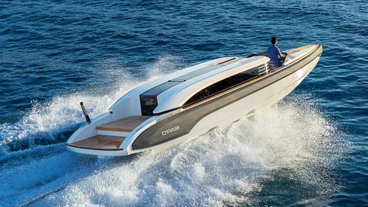 Onda 321L tender for the superyacht O'Pari