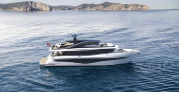 the Princess X80 joins the Superfly series of megayachts