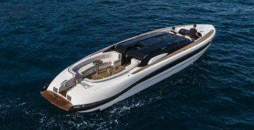 WB14 limo tender; one of several tenders for superyacht customers