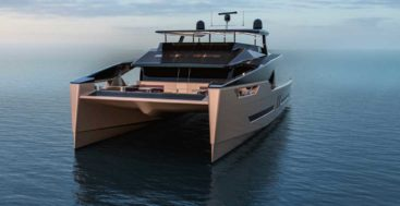 Alva Yachts in Germany is building the Ocean Eco 90 catamaran, for megayacht owners wanting a greener experience