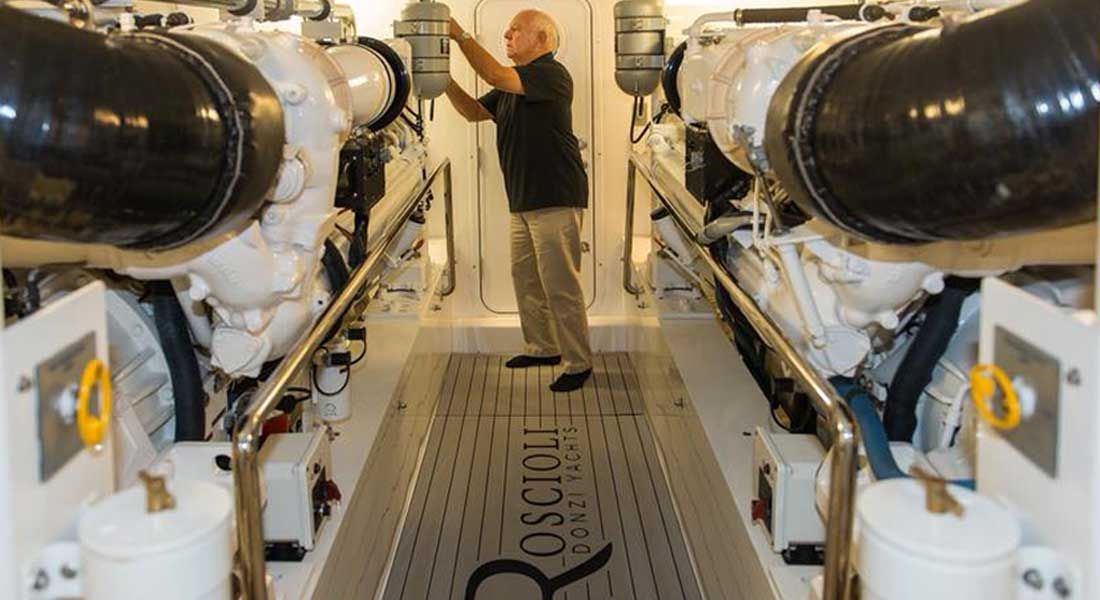 Bob Roscioli became legendary in the yacht and superyacht industry