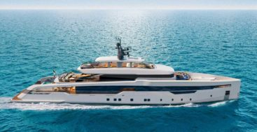 CRN 142 is a megayacht with design by Omega Architects