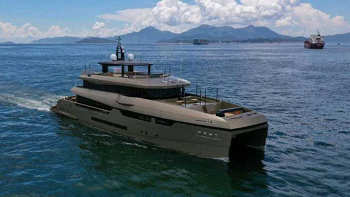 Yu Feng Zhe 1 is the largest catamaran megayacht built in China