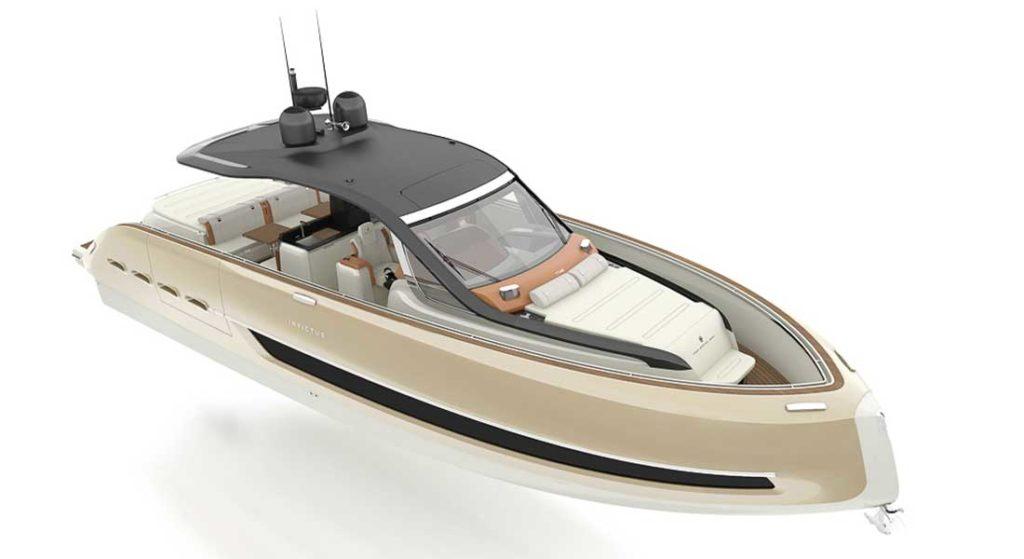 the Invictus TT460 megayacht tender arrives summertime 2020
