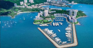 superyacht owners and guests can expect the Lantau Yacht Club marina renovations to wrap up this year