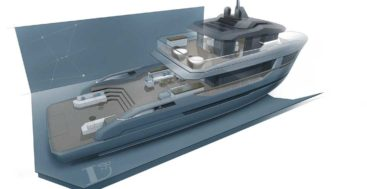 the Orion yacht concept from Lynx Yachts and Dragoni Yacht Design is an intrepid-looking megayacht