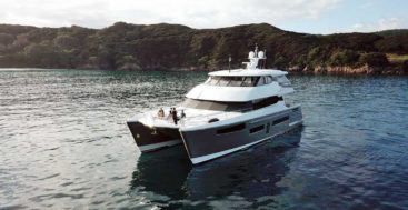 Pachoud Yachts built the megayacht catamaran Rua Moana