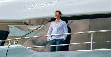 Great White is the name of Rafael Nadal's 80 Sunreef Power megayacht