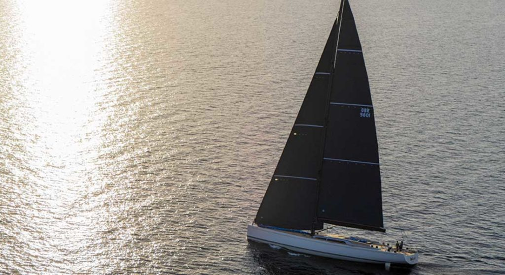 Be Cool is the first Swan 98 sailing superyacht
