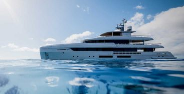 the Tankoa T450 is the first megayacht from Tankoa Yachts beneath 500 GT