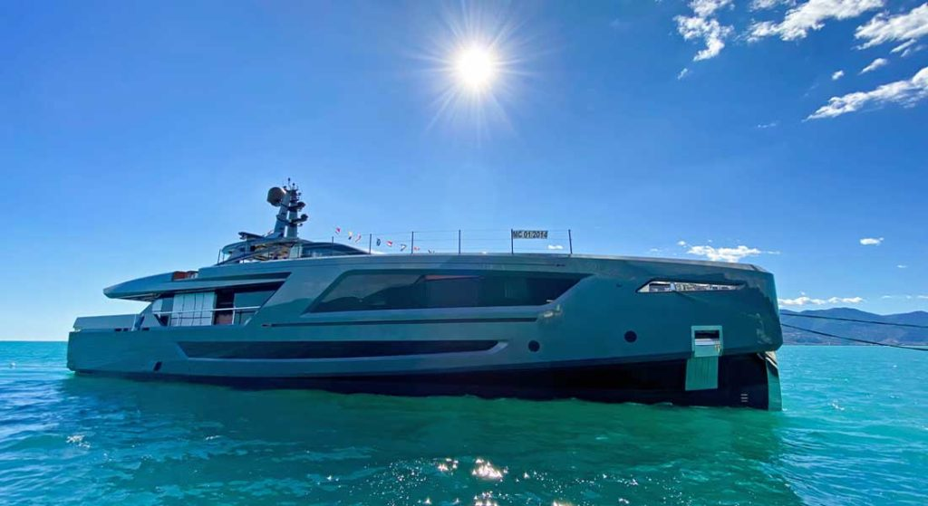 Baglietto launched the megayacht Panam in August 2020