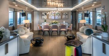 Cantiere delle Marche delivered the megayacht Archipelago in summer 2019
