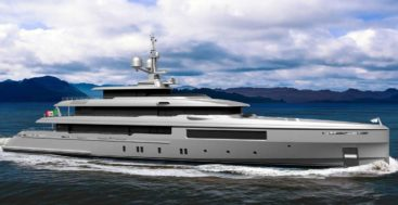 Codecasa C127 is a spec-built superyacht