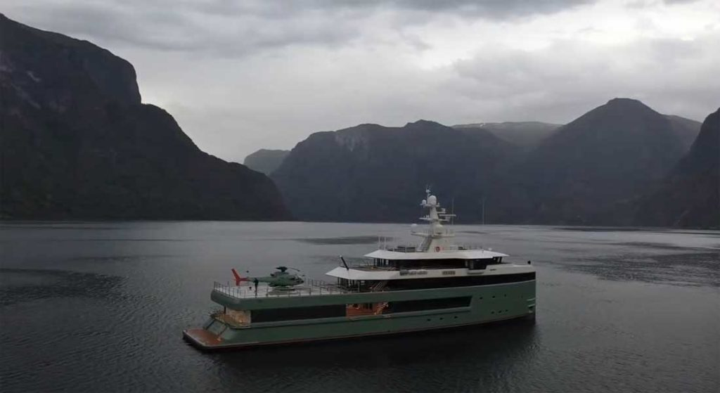 Damen Yachting delivered Anawa as the first SeaXplorer superyacht