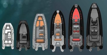 the Highfield Sport Collection of RIBs is for megayacht owners, among others