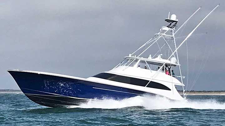 Reel Development is the second-largest megayacht by Jarrett Bay Boatworks