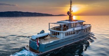 Project 584 is a megayacht from CPN in Italy
