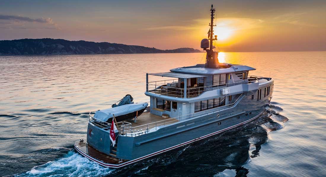 Project K584 Heads Off in Pursuit of Remote Cruising & Diving Regions