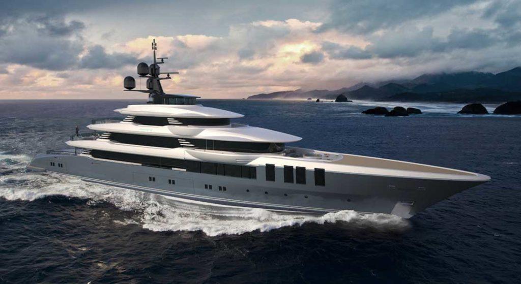 Turquoise NB69 superyacht