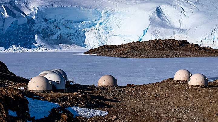 Ultimate Antarctica sees the superyacht Legend take you cruising along the continent plus stays on land