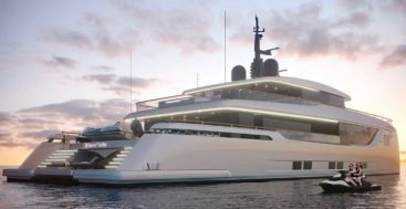 the newest megayacht concept from Sunreef Yachts is the 40M Sunreef Explorer