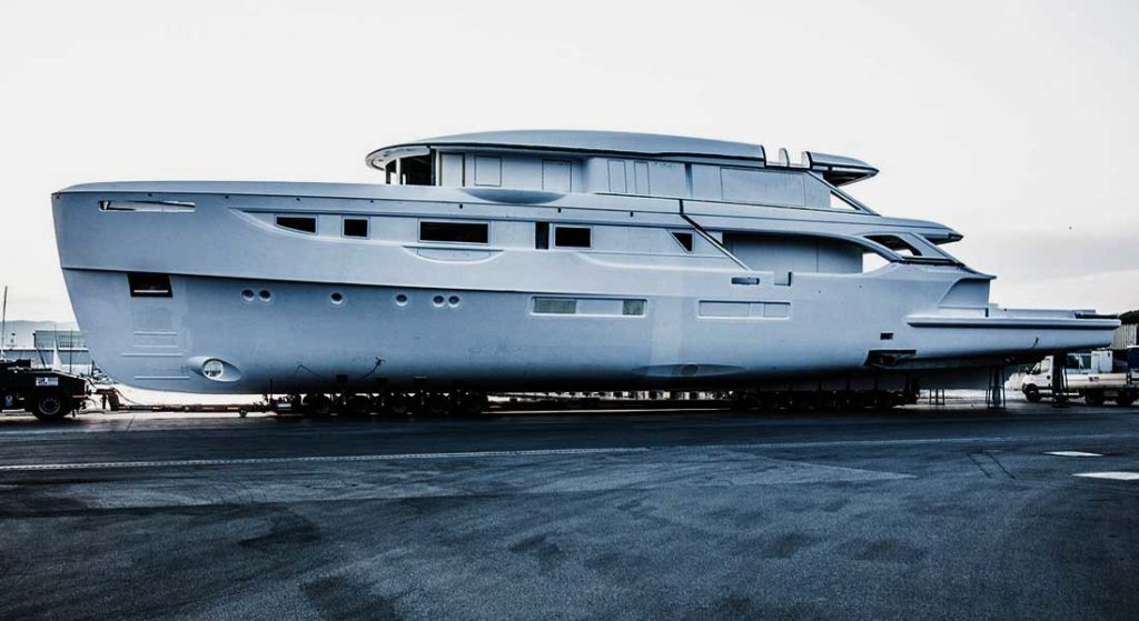 the first Benetti Oasis 40M is the megayacht Rebeca