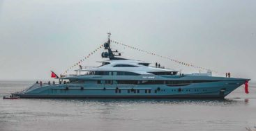 the Sunday Superyacht Video star Tatiana