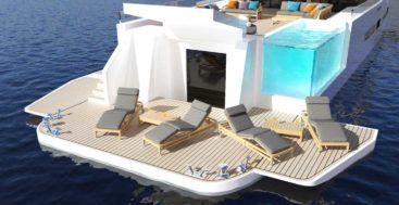Diana Yacht Design's Zenith yacht concept for superyacht owners