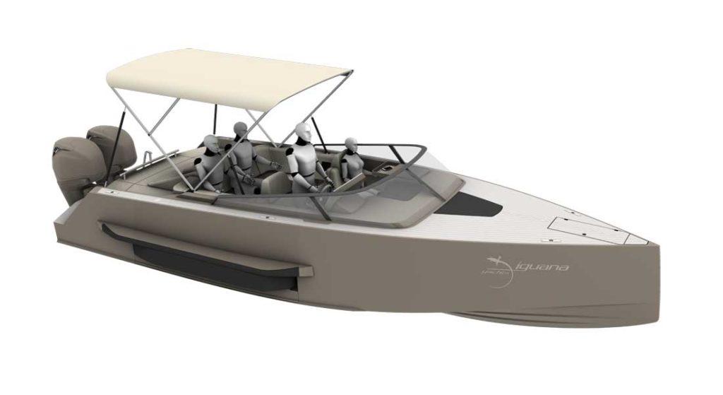 Iguana Yachts created the Iguana Coupé and Iguana Sport for megayacht owners
