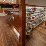 stowage solutions by Jarrett Bay Boatworks