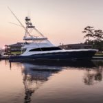Jarrett Bay Boatworks built Reel Development, a megayacht sportfisherman