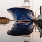 Carolina flare is a hallmark of the yachts and megayachts of Jarrett Bay Boatworks