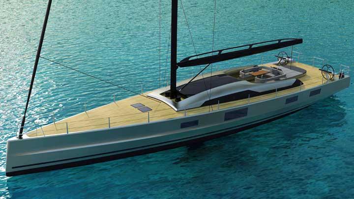 McConaghy Boats has introduced the semi-custom sailing superyacht Makara 85